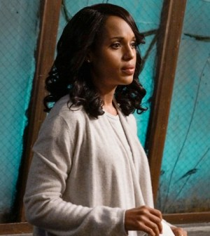 "SCANDAL - ""You Got Served"" - Olivia knows she can't handle this latest storm on her own and calls for help from an unexpected source. Meanwhile, Mellie and Cyrus continue to pull strings from the sidelines and Jake is still occupied by a ghost from his past, on ""Scandal,"" THURSDAY, OCTOBER 22 (9:00-10:00 p.m., ET) on the ABC Television Network. (ABC/Michael Desmond) KERRY WASHINGTON"