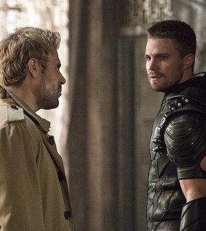 John Constantine and Oliver Queen