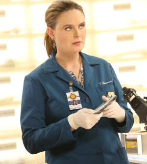 "Emily Deschanel in the special ""The Resurrection in the Remains"" BONES/SLEEPY HOLLOW crossover episode of BONES. ©2015 Fox Broadcasting Co.  Cr:  Kevin Estrada/FOX"