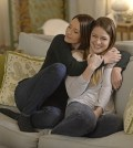 Pictured left to right: Chyler Leigh and Melissa Benoist Photo: Darren Michaels/Warner Bros. Entertainment Inc.