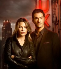 Pictured: Lauren German as Chloe and Tom Ellis as Lucifer. Co. CR: Brendan Meadows/FOX