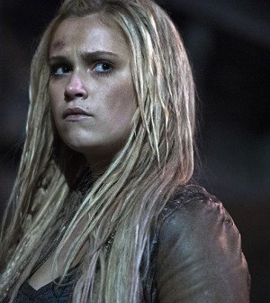 Pictured: Eliza Taylor as Clarke -- Credit: Cate Cameron/The CW