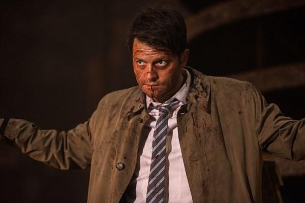 Misha Collins as Castiel