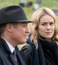 James Spader as Red Reddington, Megan Boone as Liz Keen