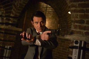 "TIMELESS -- ""The Red Scare"" Episode 115 -- Pictured: Goran Visnjic as Garcia Flynn -- (Photo by: Sergei Bachlakov/NBC)"
