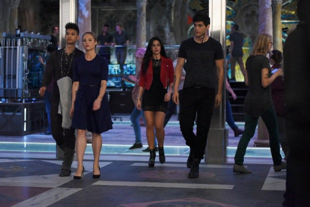 HARRY SHUM JR., STEPHANIE BENNETT, EMERAUDE TOUBIA, MATTHEW DADDARIO