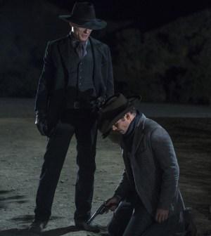 Teddy Vs The Man In Black Westworld Cast Breaks Down Last