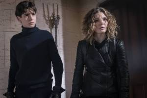 GOTHAM: L-R: Camren Bicondova and David Mazouz | Cr: Jeff Neumann/FOX.