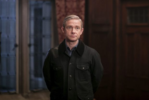 Episode: Sherlock S4 - Ep3 (No. 3) - Picture Shows: Dr John Watson (MARTIN FREEMAN) - (C) Hartswood Films - Photographer: Laurence Cendrowicz