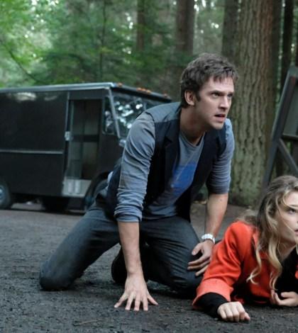 Pictured: (l-r) Dan Stevens as David Haller, Rachel Keller as Syd Barrett. CR: Michelle Faye/FX