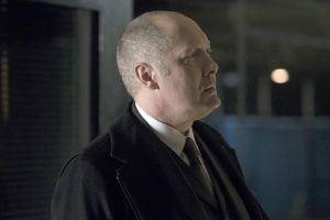 """THE BLACKLIST -- """"The Architect #107"""" Episode 414 -- Pictured: James Spader as Raymond """"Red"""" Reddington -- (Photo by: Virginia Sherwood/NBC)"""