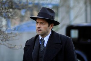 "TIMELESS -- ""Public Enemy No. 1"" Episode 114 -- Pictured: Misha Collins as Eliot Ness -- (Photo by: Sergei Bachlakov/NBC)"