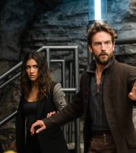 "SLEEPY HOLLOW: L-R: Janina Gavankar and Tom Mison in the ""Blood From A Stone"" episode of SLEEPY HOLLOW 
