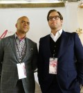 "BULL ""Dressed To Kill"" Pictured L-R: Chris Jackson as Chunk Palmer and Michael Weatherly as Dr. Jason Bull Photo: John Paul Filo/CBS"