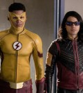 """The Flash -- """" Abra Kadabra"""" -- Pictured (L-R): Keiynan Lonsdale as Wally West and Carlos Valdes as Cisco Ramon -- Photo: Jack Rowand/The CW"""