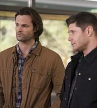 """Supernatural --""""Ladies Drink Free""""-- Pictured (L-R): Jared Padalecki as Sam and Jensen Ackles as Dean -- Photo: Diyah Pera/The CW"""
