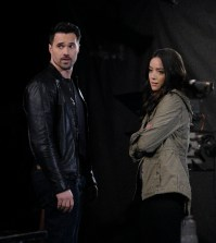 "MARVEL'S AGENTS OF S.H.I.E.L.D. - ""All The Madame's Men"" (ABC/Patrick Wymore) BRETT DALTON, CHLOE BENNET"