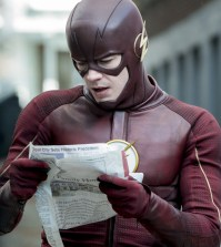 "The Flash -- ""The Once and Future Flash"" Pictured: Grant Gustin as The Flash -- Photo: Katie Yu/The CW"