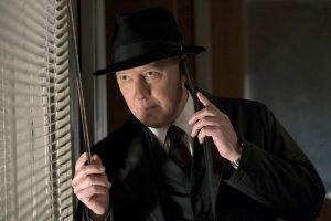 "THE BLACKLIST -- ""Requiem"" Episode 417 -- Pictured: James Spader as Raymond ""Red"" Reddington -- (Virginia Sherwood/NBC)"