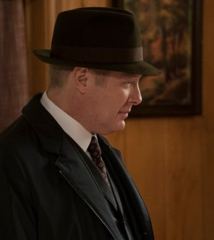 "THE BLACKLIST -- ""Philomena"" Episode 418 -- Pictured: James Spader as Raymond ""Red"" Reddington -- (Photo by: Virginia Sherwood/NBC)"