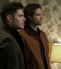 "Supernatural --""The Future"" Pictured (L-R): Jensen Ackles as Dean and Jared Padalecki as Sam -- Photo: Robert Falconer/The CW"