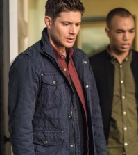 "Supernatural ""Twigs and Twine and Tasha Banes"" -- Pictured (L-R): Jensen Ackles as Dean and Kendrick Samson as Max Banes -- Photo: Dean Buscher/The CW"
