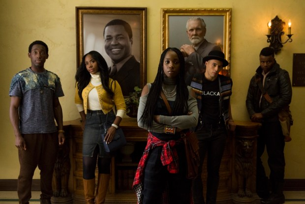 Jeremy Tardy, Nia Jervier, Ashley Blaine Featherson, Jemar Michael, Marque Richardson (Adam Rose/Netflix)