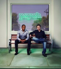 """PSYCH -- Pictured: (l-r) Dule Hill as Burton """"Gus"""" Guster, James Roday as Shawn Spencer -- USA Network Photo: Williams & Hirakawa"""