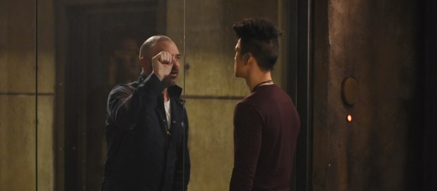 "SHADOWHUNTERS - ""You Are Not Your Own"" (Freeform/John Medland) ALAN VAN SPRANG, HARRY SHUM JR."