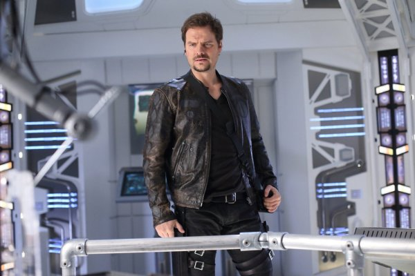 "DARK MATTER -- ""It Doesn't Have To Be Like This"" Episode 302 -- Pictured: Anthony Lemke as Three -- (Photo by: Stephen Scott/Dark Matter Series 3/Syfy)"