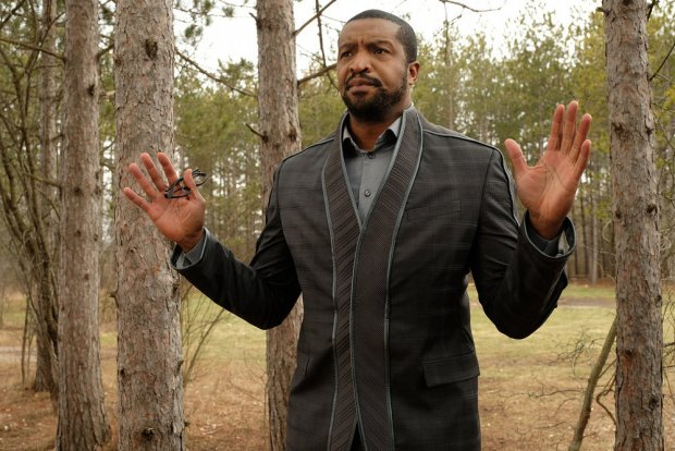 "DARK MATTER -- ""Is That A Paradox?"" Episode 309 -- Pictured: Roger Cross as Six -- (Photo by: Stephen Scott/Dark Matter Series 3/Syfy)"