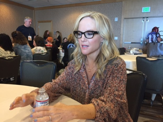 Rachael Harris at Comic Con 2017. Photo Credit Pauline Perenack/ ScreenSpy Magazine