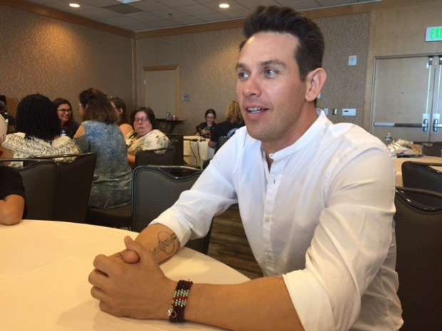 Kevin Alejandro at Comic Con 2017. Photo Credit Pauline Perenack/ScreenSpy Magazine
