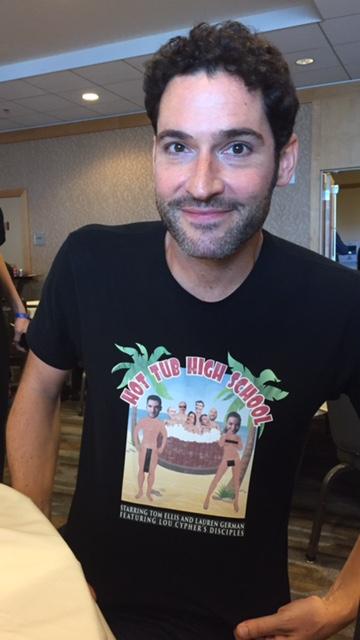 Tom Ellis at Comic Con 2017. Photo Credit Pauline Perenack/ScreenSpy Magazine