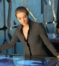 "DARK MATTER -- ""Built, Not Born"" Episode 310 -- Pictured: Zoie Palmer as The Android -- (Photo by: Stephen Scott/Dark Matter Series 3/Syfy)"
