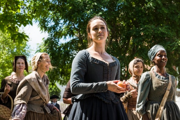 Heather Lind as Anna Strong - TURN: Washington's Spies _ Season 4, Episode 10 - Photo Credit: Antony Platt/AMC