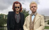 """David Tennant and Michael Sheen in """"Good Omens."""""""