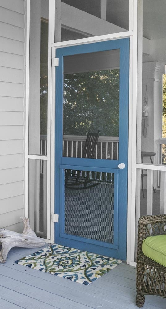 screen doors solid vinyl wood and