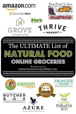 natural food online groceries