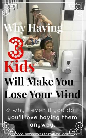 three kids is hard
