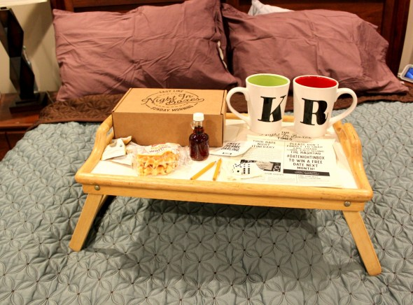April 2018 Date Night In Box Review - Easy Like Sunday Morning