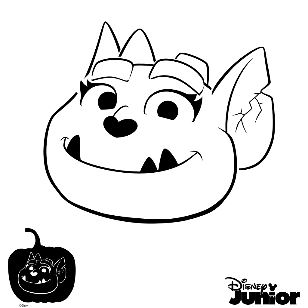 Vampirina Popular Easy Coloring Pages Pdf - Find Gallery