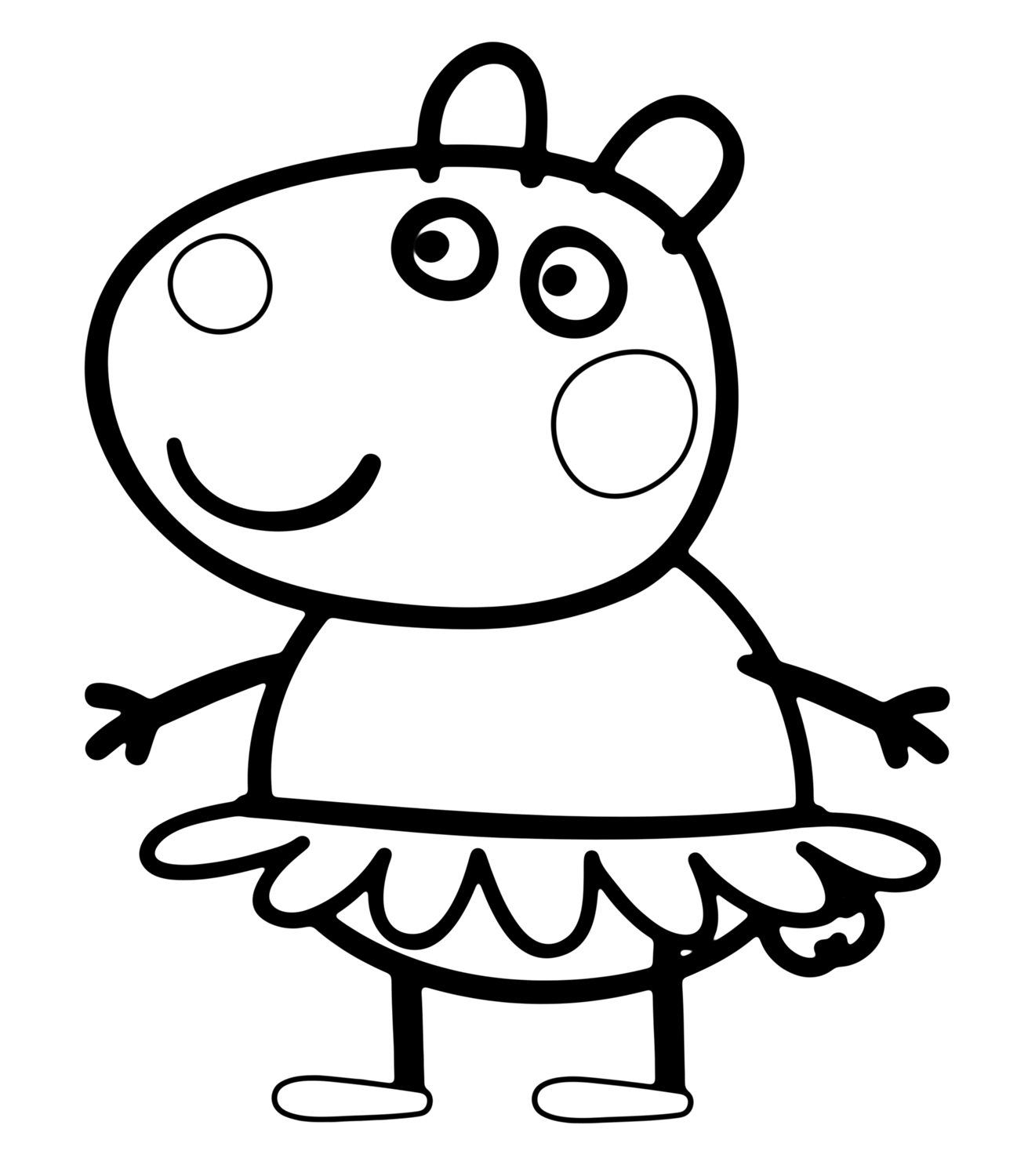 30 Printable Peppa Pig Coloring Pages You Won T Find Anywhere