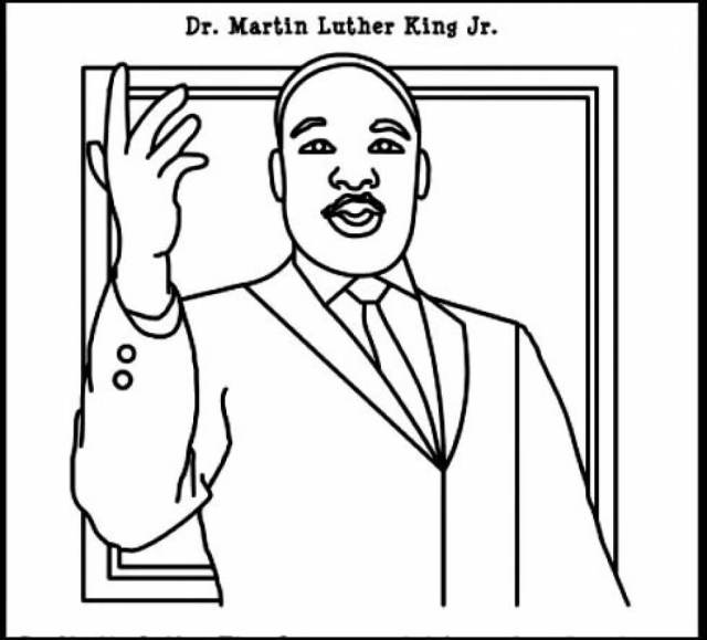 Free Printable Martin Luther King Jr Day (MLK Day) Coloring Pages