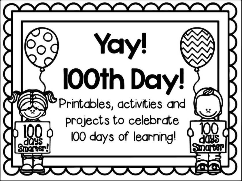 free printable  days of school coloring pages