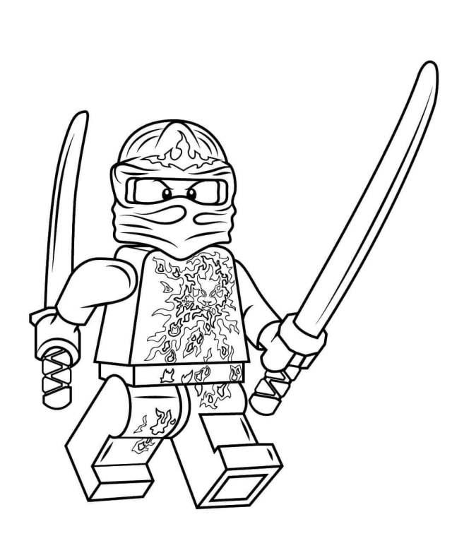 25 Free Printable Lego Ninjago Coloring Pages