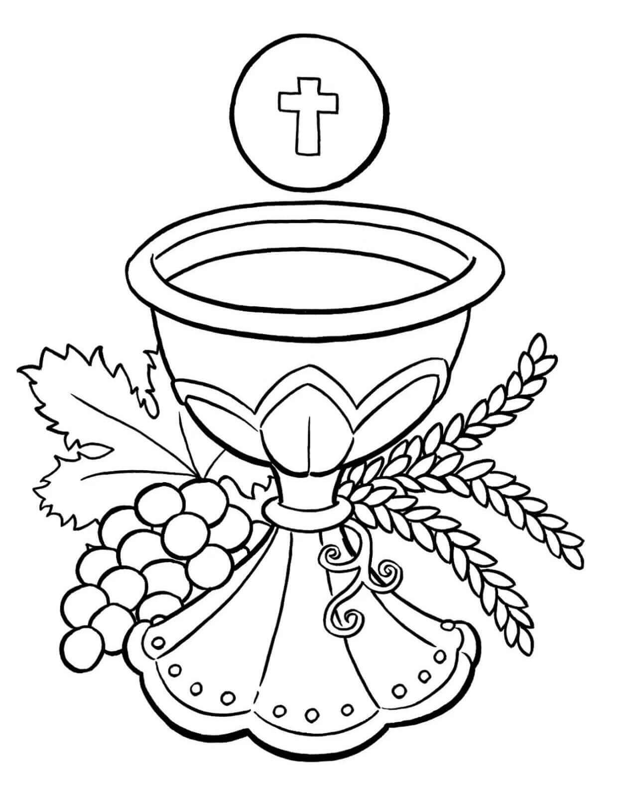 Coloring Page For Catholic Schools Week