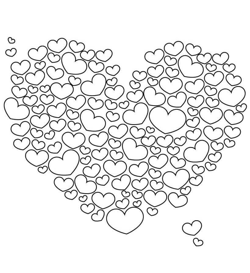 35 Free Printable Heart Coloring Pages