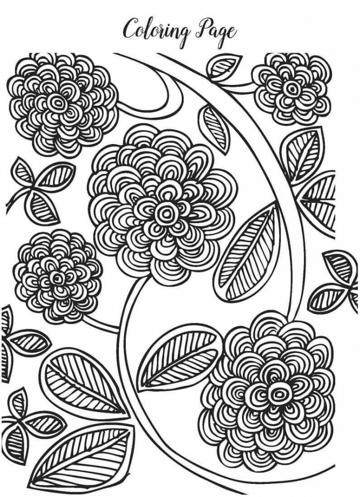 35 Free Printable Spring Coloring Pages | free printable spring coloring pages for adults