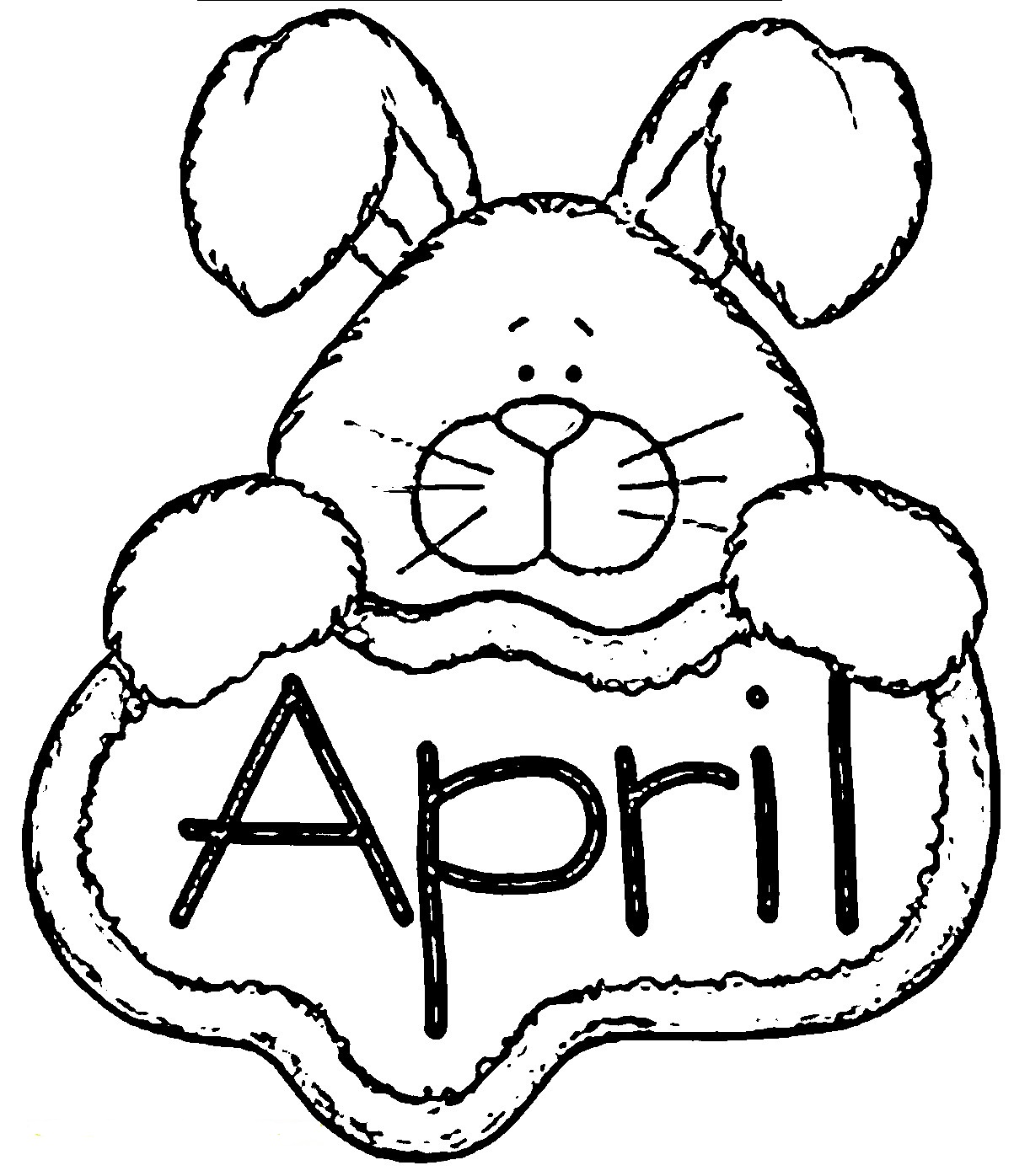 20 Free Printable April Coloring Pages